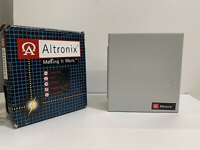 Altronix Al201ul 12vdc Power Supply Charger 1.75 Amp - New