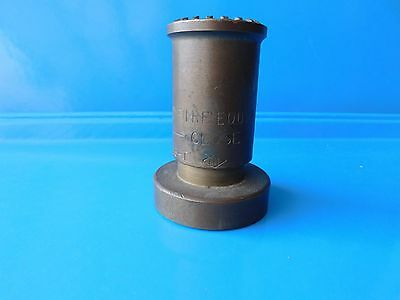Vintage Fire Nozzle Standard Fire Equipment Used
