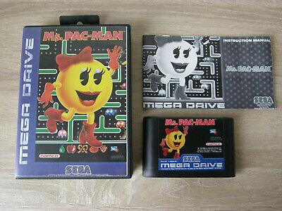 Ms. Pac-man (complete) - Sega Mega Drive / Genesis - pacman comprar usado  Enviando para Brazil
