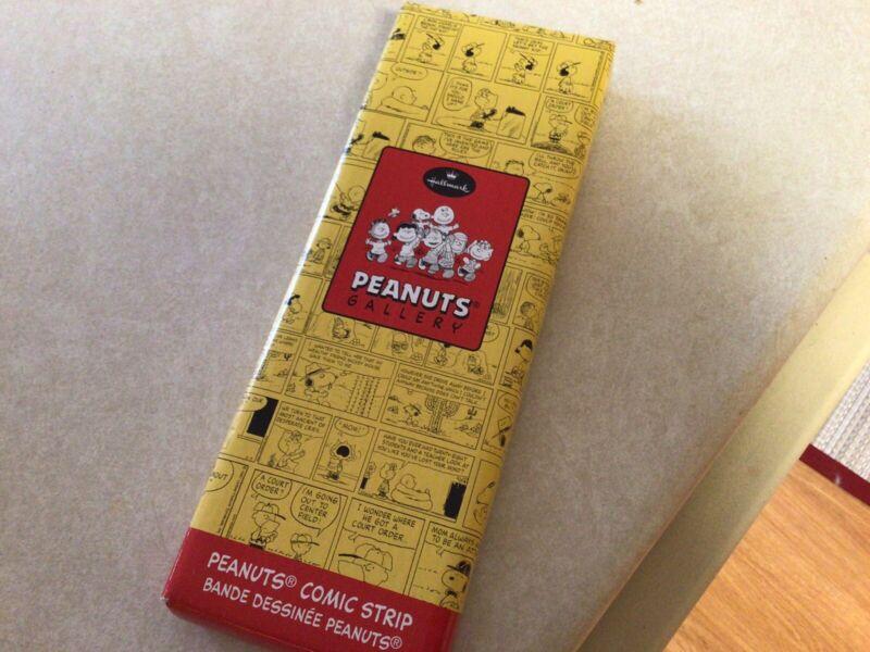 "Vintage Hallmark PEANUTS Gallery ""Happy Endings!"" Comic Strip Snoopy 2001"