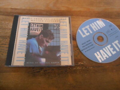 CD OST Michael Kamen - Let Him Have It (15 Song) FINELINE FEAT MOVIE MUSIC jc Fine Line Music