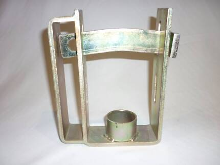 External Trailer Coupling Lock - Steel Clamp For a Secure Trailer