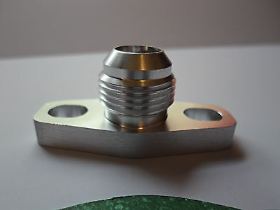 USA 36MM Turbo Oil Drain Return Flange 10 AN Garrett GT28 GT30 GT35 38mm M8 Hole