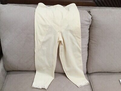 Adonna Firm Control Mid Calf Pants Liner Size 32 Girdle Leg shaper