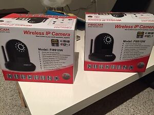 2 Wireless security camera/baby or nanny cams