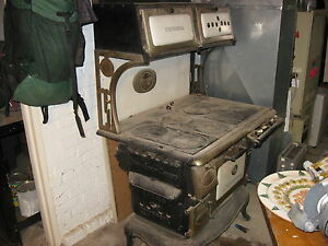 Antique-Cribben-Sexton-Gas-Wood-Coal-Universal-Cook-Stove
