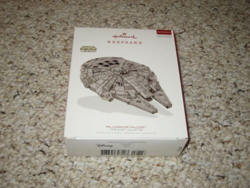 Hallmark 2018 Star Wars Storytellers Millennium Falcon! Incredibly Rare!