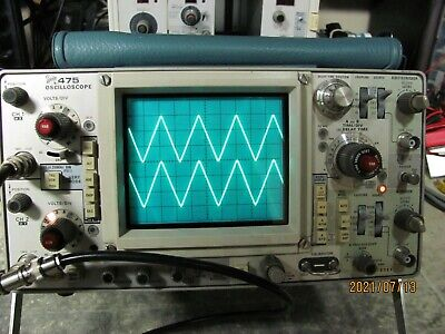 Tektronix 475 150mhz 2 Channel Oscilloscope