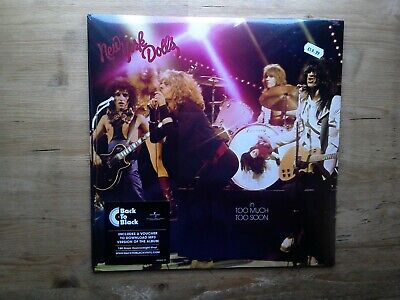 The New York Dolls In Too Much Too Soon NEW SEALED Vinyl LP Record Album Reissue