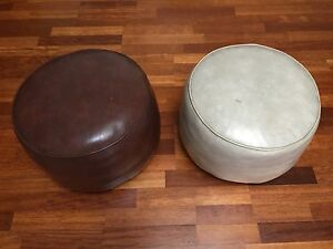 Two pouffes, footstools FREE Dulwich Hill Marrickville Area Preview