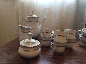 Turkish Teapot Set (Gold Trim)
