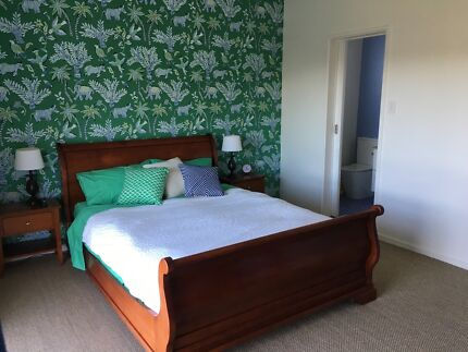 Bedroom Furniture set made in Australia from Cherry wood timber