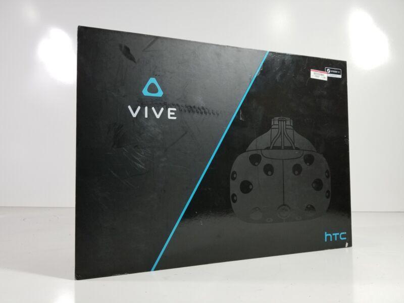 HTC Vive Virtual Reality Headset Bundle In Original Box 99HAHZ024-00