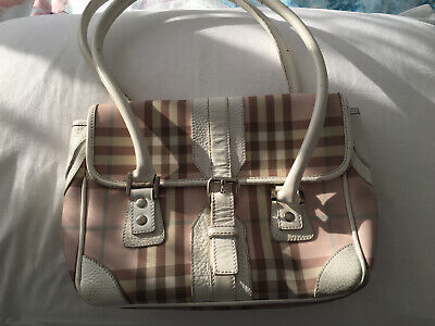 Authentic Used  Vintage Burberry Bag