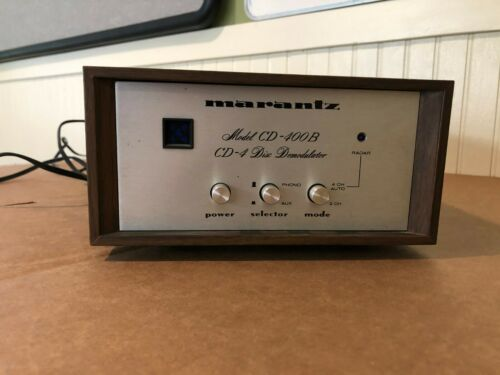 Marantz Cd-400b Cd4 Disc Demodulator (Rare)