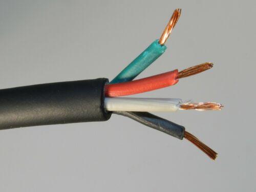 50 ft 16/4 SJOOW SJO SJ SJ00W Black Rubber Cord Outdoor Flexible Wire/Cable