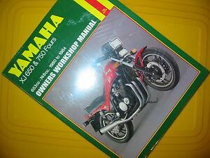 Haynes Yamaha XJ650  XJ750 Repair Manual 738