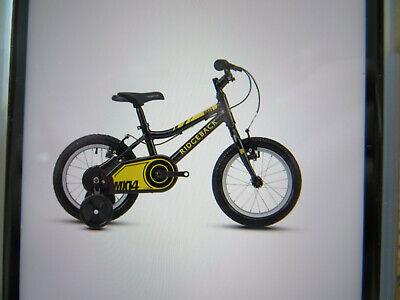 "boys/girls kids child black 14"" RIDGEBACK bike new boxed"