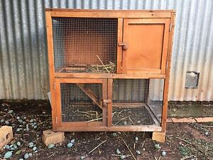 Rabbit hutch Elizabeth Playford Area Preview
