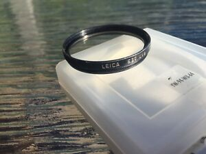 Leica lens filters UV and IR