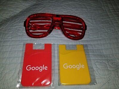Light Up Sunglasses Bulk (Google Products Lot- 1 Flashing Rave LED Light Up Party Glasses+ 2 Phone)