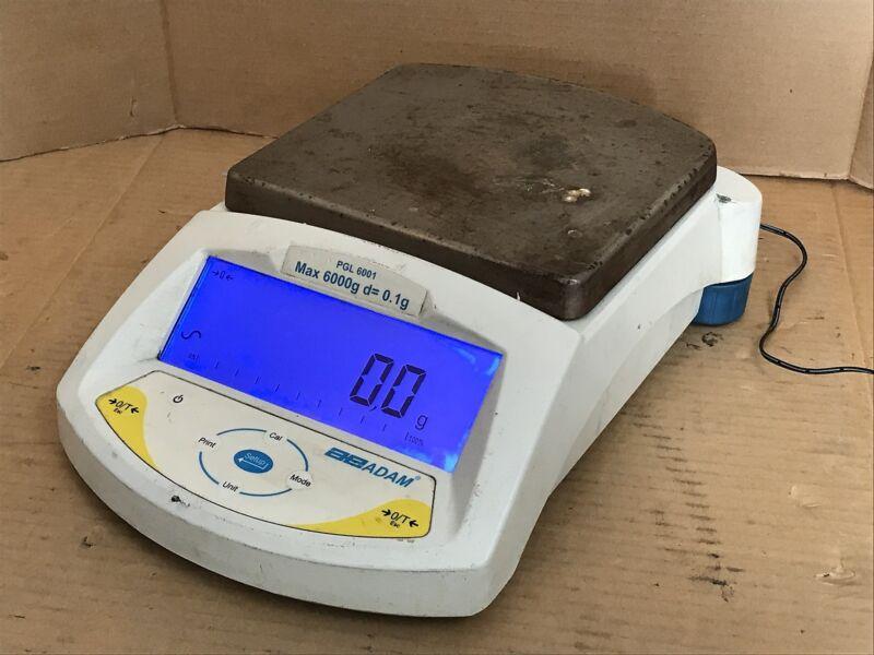 Adam PGL 6001 Precision Balance 6000g Capacity Digital Scale