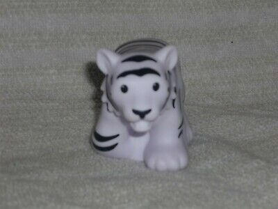 Fisher Price Little People White Striped Zoo Talkers Tiger