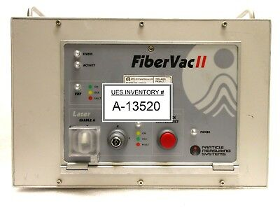 Particle Measuring Systems Fibervac Ii Laser Control Unit Used Working