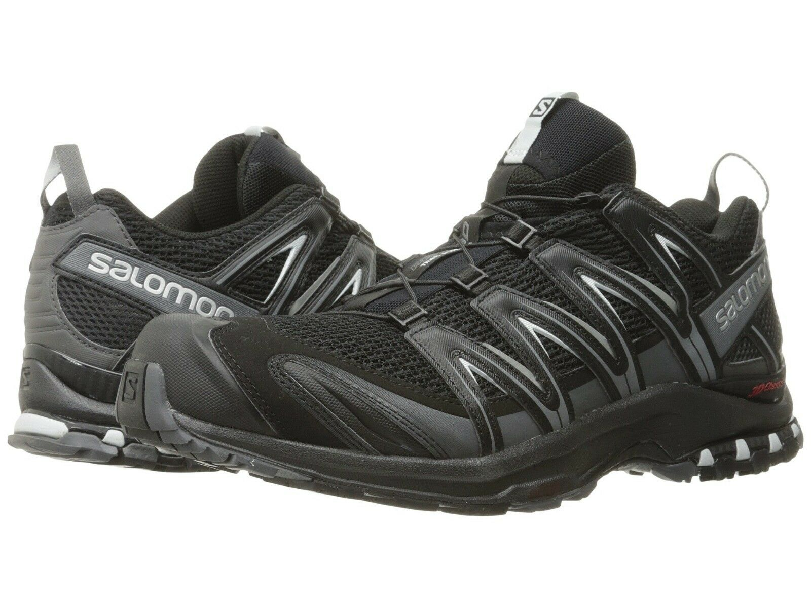 Salomon Men's XA Pro 3D Stability Running Shoes - Black/Magn