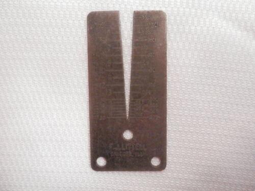 Vintage US Standard Sheet Steel Gauge – FJ Littell Chicago, Ill EUC