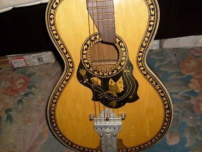 antique vintage guitar