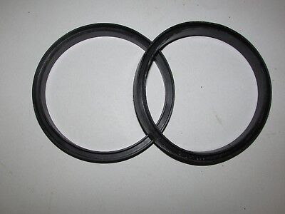 New 10 Pack - 5 Diameter Rubber Gasket O-ring Seal U Channel Round