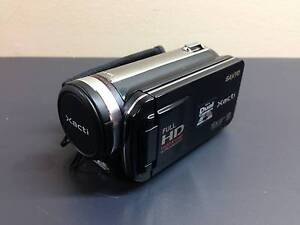 Sanyo VPC-FH1 Dual Camera Xacti Full 1080p HD Camcorder (Black) Frenchs Forest Warringah Area Preview