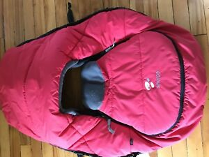 Sherpa Insulated Car Seat Cover rated to -25