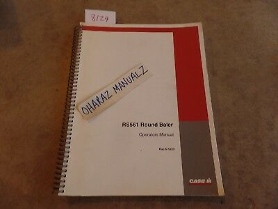 Case Rs561 Round Baler Operators Manual 6-5320