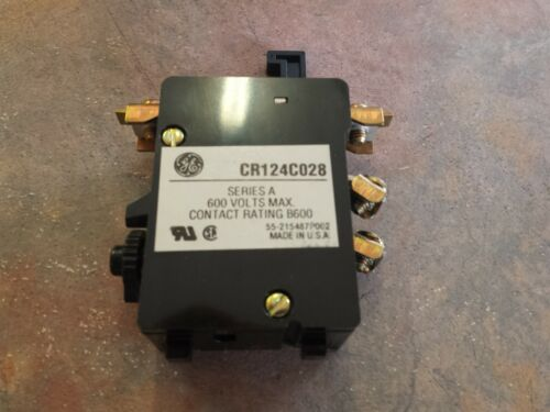 CR124C028  GE  Size 1 Overload Relay  New no Box