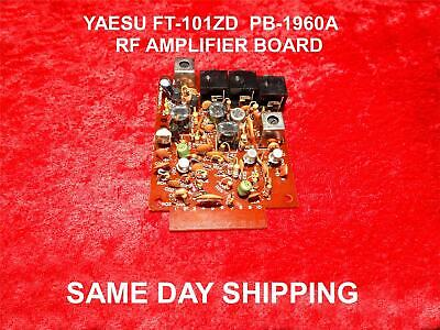YAESU FT-101ZD RF  AMPLIFIER BOARD PB-1960A EXCELLENT CONDITION 1 DAY SHIPPING for sale  Shipping to Canada