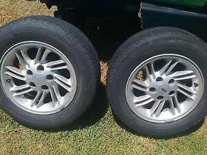 Ford XH EF EL Mag wheels 2 only to suit car or trailer. Wetherill Park Fairfield Area Preview