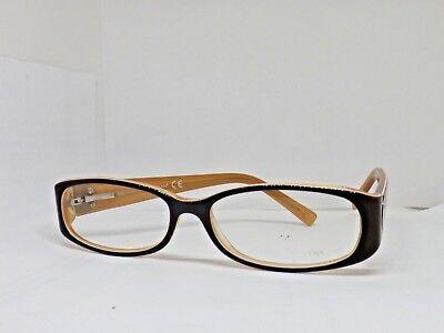 Gestell für Optische Brille Frau Frames Lunettes Brillen Braun Groß