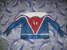 Dainese Freddie Spencer Replica Two Piece Leathers. Orange Orange Area Preview