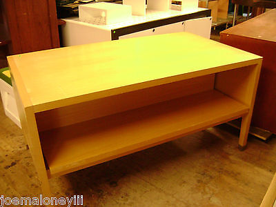 Retail Display Table 3 Section Nesting Style Pull Out Table