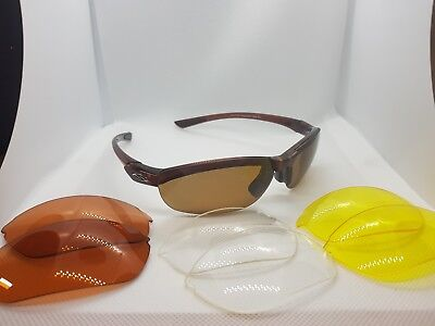 SMITH Optics Sonnenbrille Factor 4CV Dark Ale inkl. 4x Wechselgläser + Etui NEU