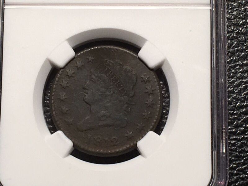 1812 Large Cent NGC Vf Details Classic Head