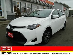 2018 Toyota Corolla you're approved  $76.25 a week tax inc. LE