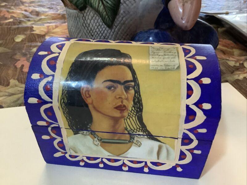 Frida Kahlo Decorative Trinket Box-  Store Your Valuables