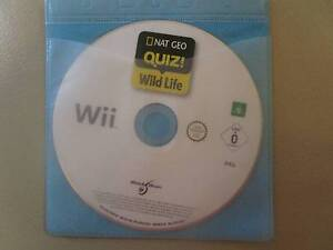 Nat Geo Quiz: Wild Life For Wii (Disc Only) Campbell North Canberra Preview