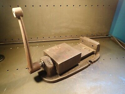 Bridgeport Branded 6 Mill Milling Machine Vise Jaws Open 5-34 Usa Used Good