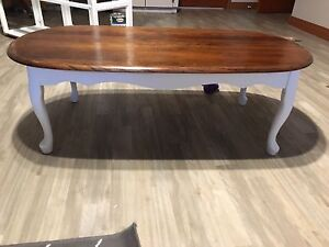 Antique maple coffee table