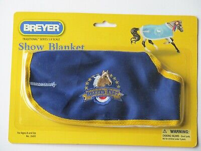 NEW Breyer Traditional Model Horse BreyerFest Blanket #2600 - RARE!