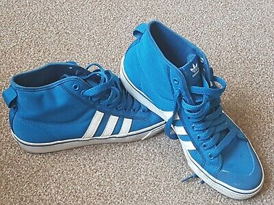 Adidas, Electric Blue, Nizza, Hi Tops, UK9 - Nice Condition